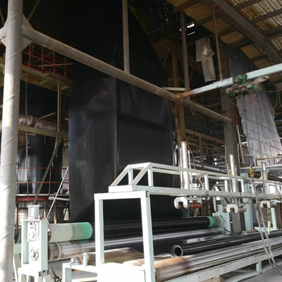 河南仿古瓦厂生产现场