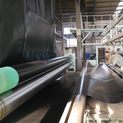 开封树脂瓦厂生产现场