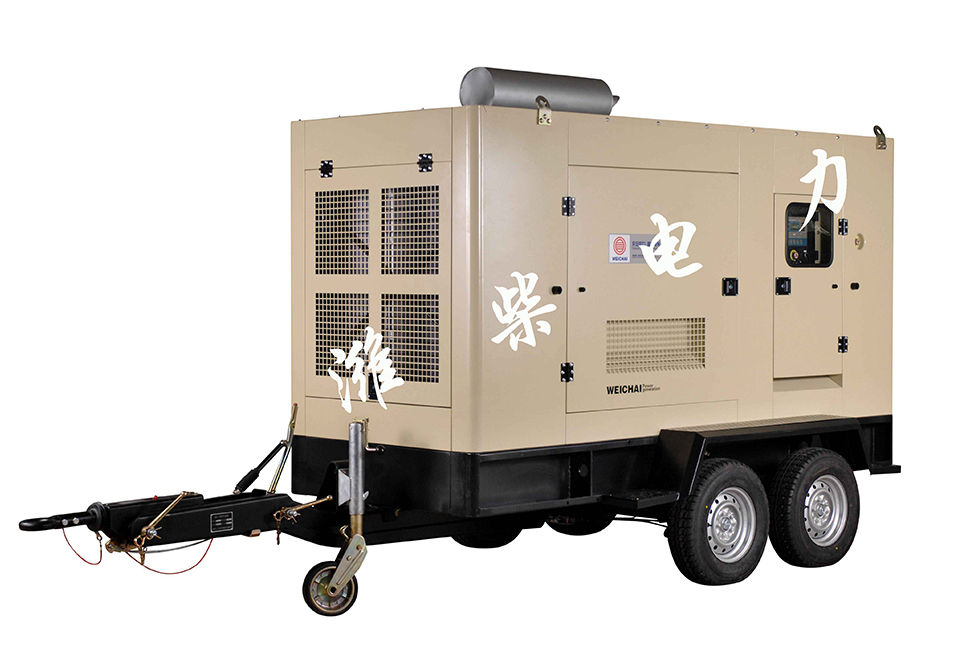 55 KVA-687.5 KVA移动电站