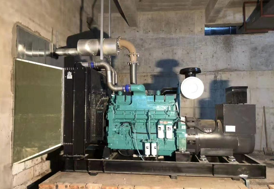 发电机组机房排风排烟