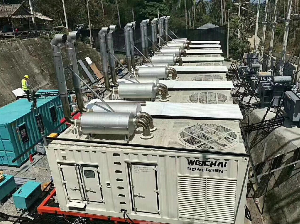 菲律宾潍柴电力发电机组