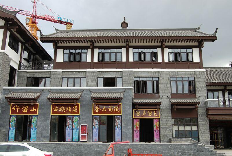 四川GRC線條公司案例:茶馬古鎮