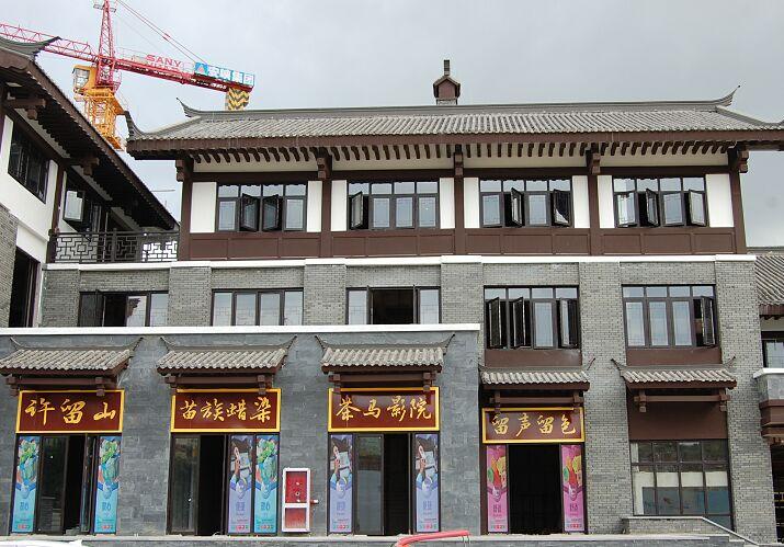 成都GRC客户见证:茶马古镇