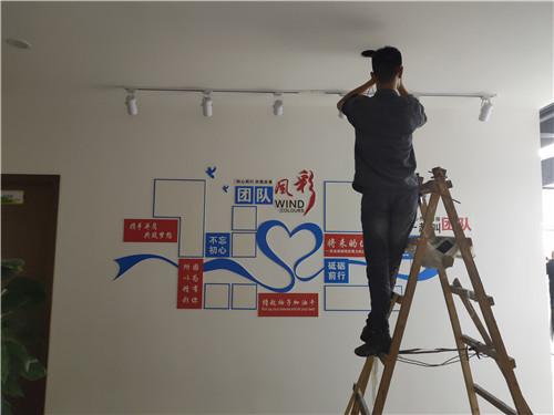 名创广告路桥集团党建文化形象墙设计案例
