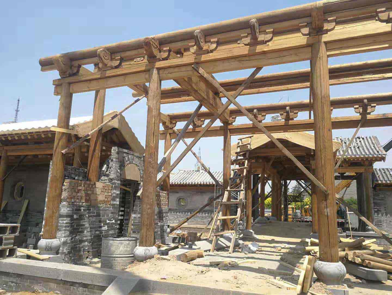 四川古建筑施工厂家简谈现代凉亭建造材料如何选择