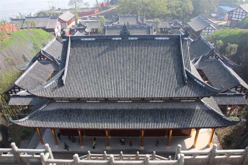 四川古建筑施工平面布局