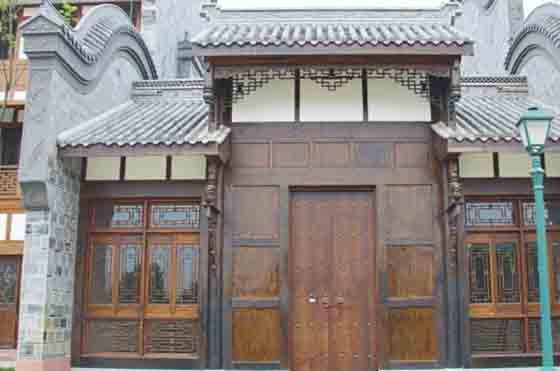 新都區錦門仿古裝飾工程