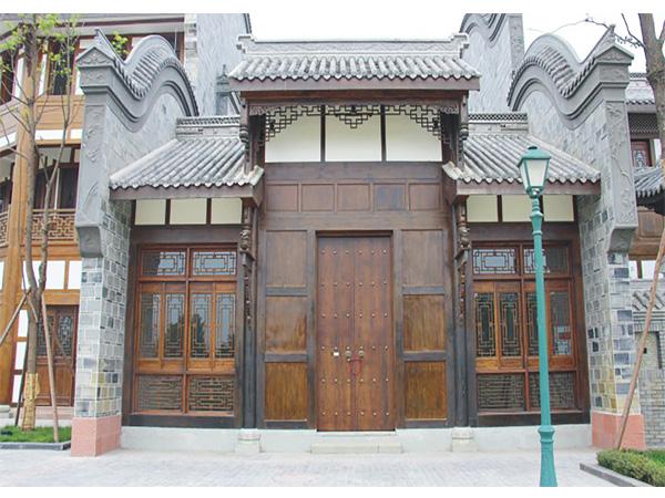 新都区锦门仿古装饰工程