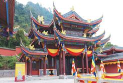 重慶綦江凈音寺古建筑施工客戶見證