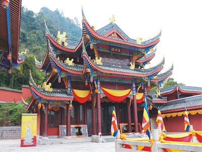 重慶綦江凈音寺