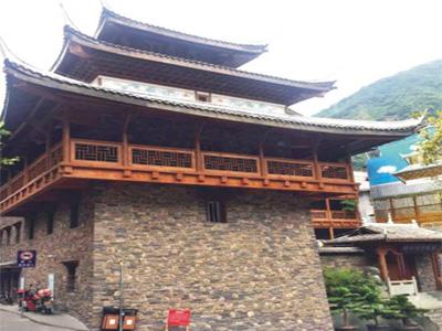 四川仿古建筑的屋面設計