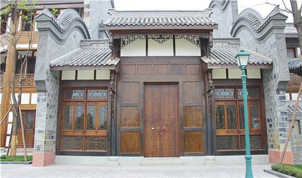 四川古建筑设计施工