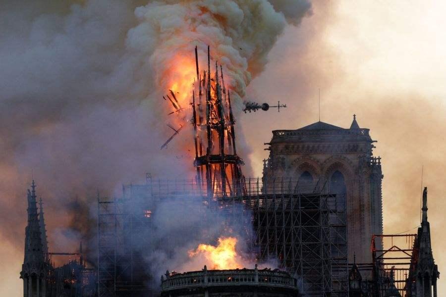 巴黎圣母院大火后,记者探访四川省内部分古建筑消防安全情况