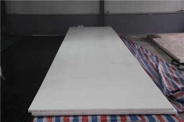 高分子聚乙烯板材衬板耐磨管表面粗糙的处理方法