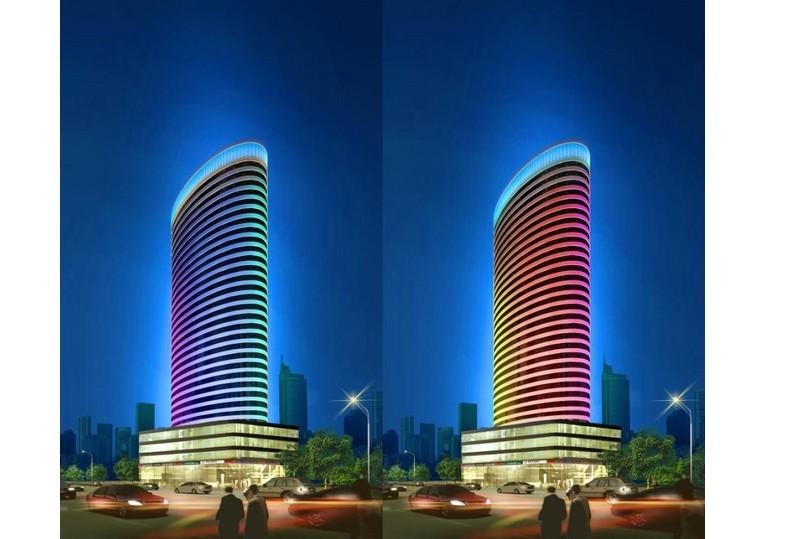 滨海王相大厦工程异型结构异型模板施工技术应用