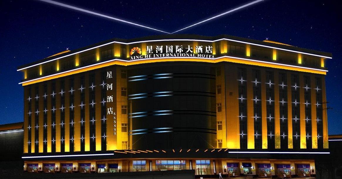 酒店楼宇亮化的设计,这可是个重点