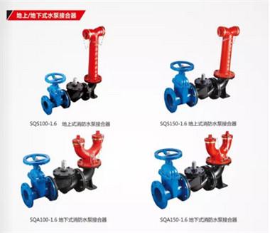地下地上式水泵接合器