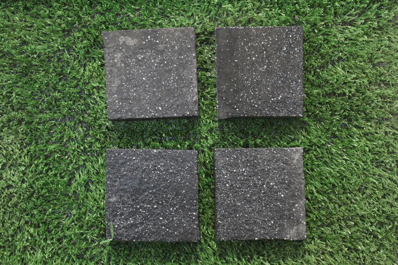 PC仿石砖——芝麻黑PC仿石砖加工
