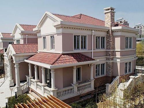 四川古铜瓦成功案例:广汉私人别墅
