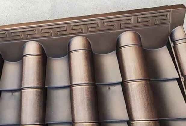 为什么屋面搭建要使用到四川仿古铜瓦?