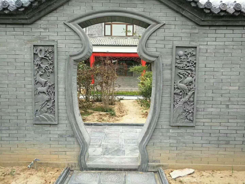 新丰秦鑫仿古建材厂案例展示!