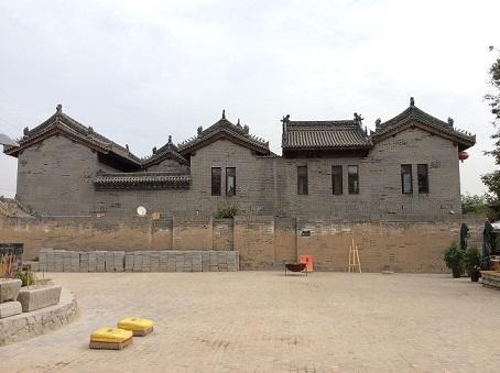 袁家村书画院仿古建材案例