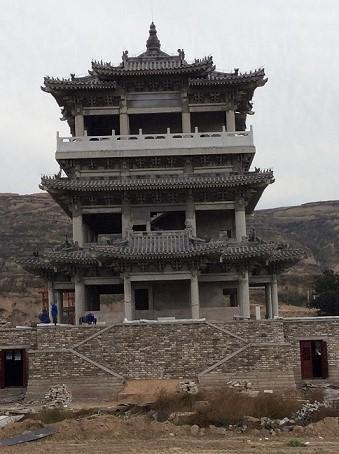 陕西古建砖瓦|潼关古城钟楼