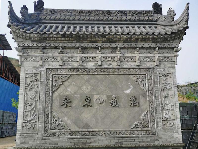 陕西仿古砖瓦案例展示