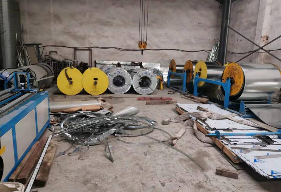 成都不锈钢风管厂区展示