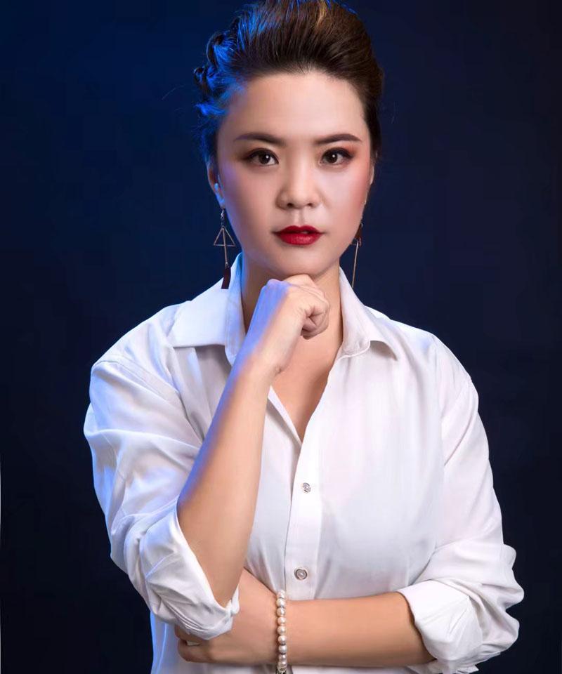 杨红红-兰州瑞尚化妆培训学校优秀学员