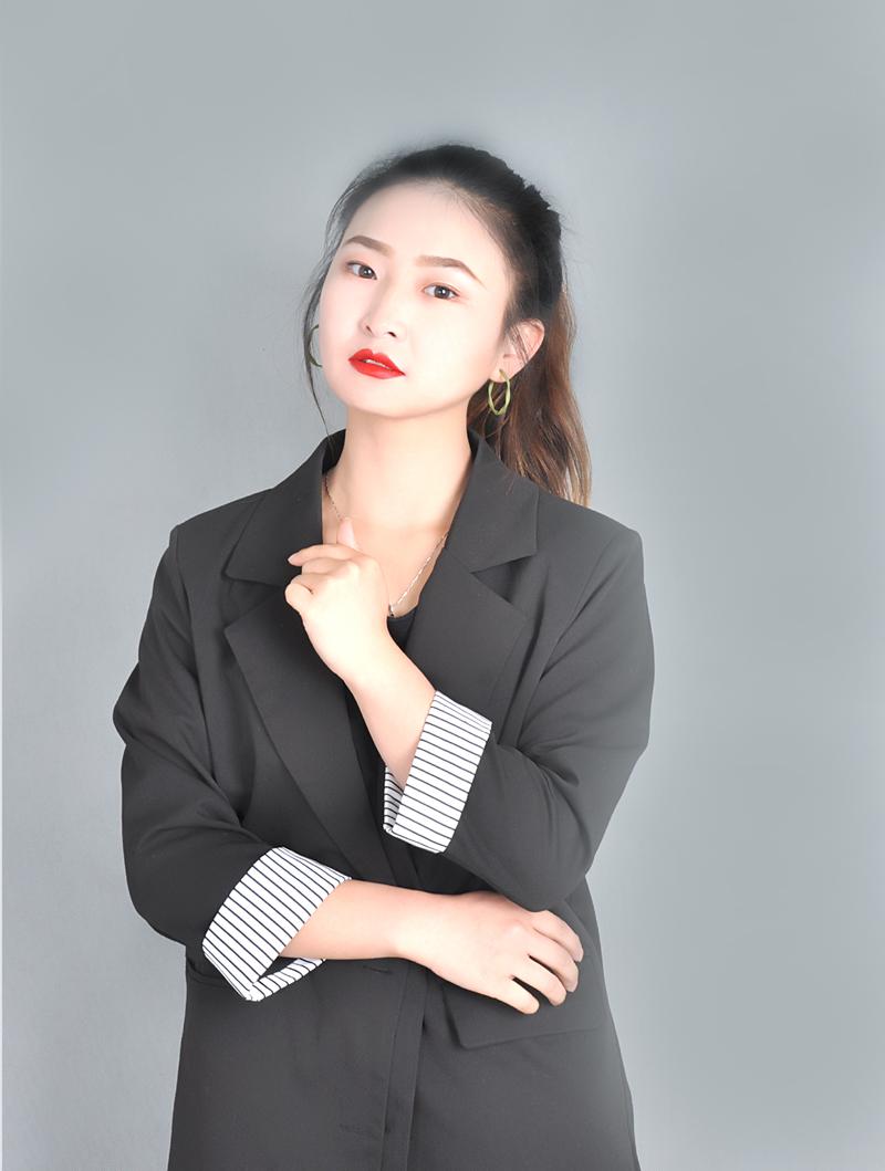 兰州瑞尚化妆优秀学员王开梨
