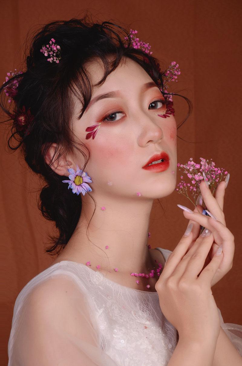 化妆作品展示