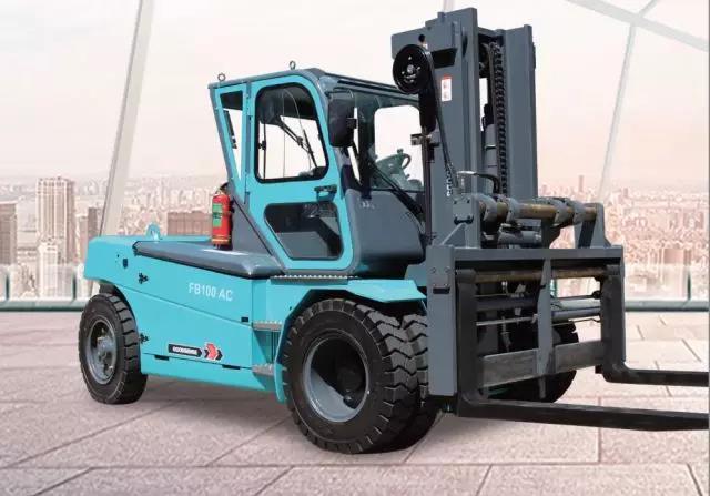 8-12吨蓄电池平衡重式叉车