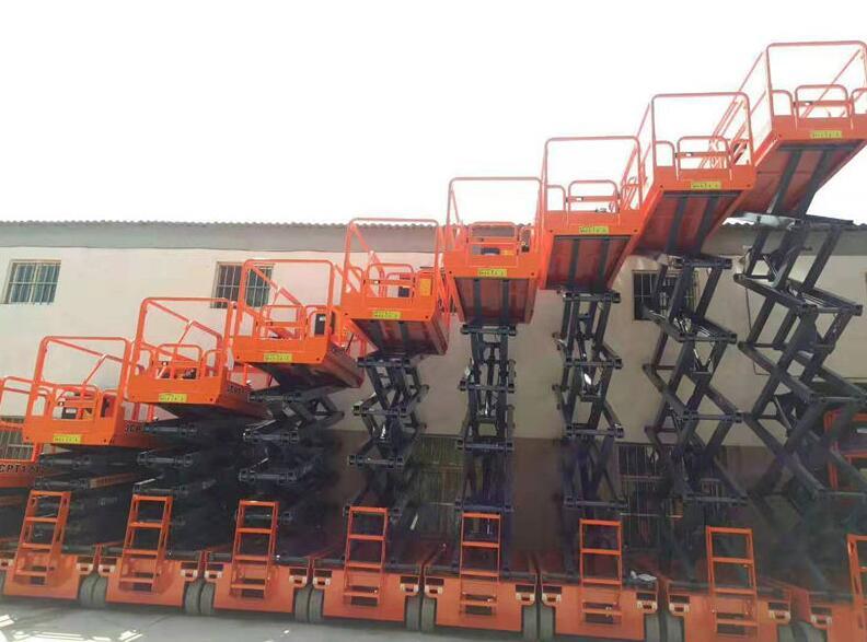 升降台如何提高高空作业车的质量,西安叉车厂家给我们详解?