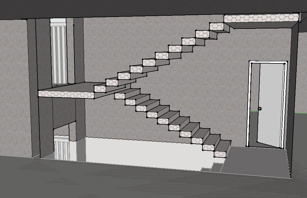 普通改造半层入户式