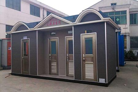 兰州旅游景区厕所展示