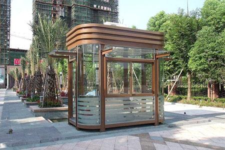 钢结构岗亭产品展示