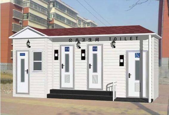 兰州龙发生产的景区移动厕所四大优势