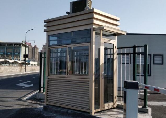 如何确定治安岗亭的安装位置