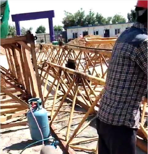 蒙西与乌海某建筑工地合作回收服务案例