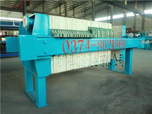 您知道关于机械板框压滤机与液压压滤机有什么区别吗