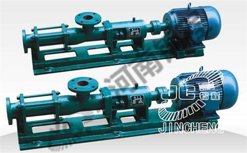 河南滤布滤板-G型螺杆泵