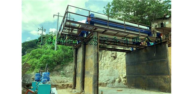 中牧某微矿处理工程现场