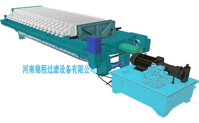 全自动压滤机与普通压滤机的不同之处