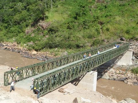 四川贝雷桥在安装弦杆螺栓需要注意哪几点?