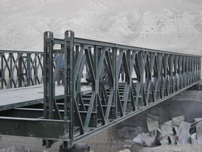 你知道如何对四川贝雷桥进行加固吗?