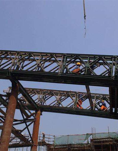 四川钢便桥客户见证