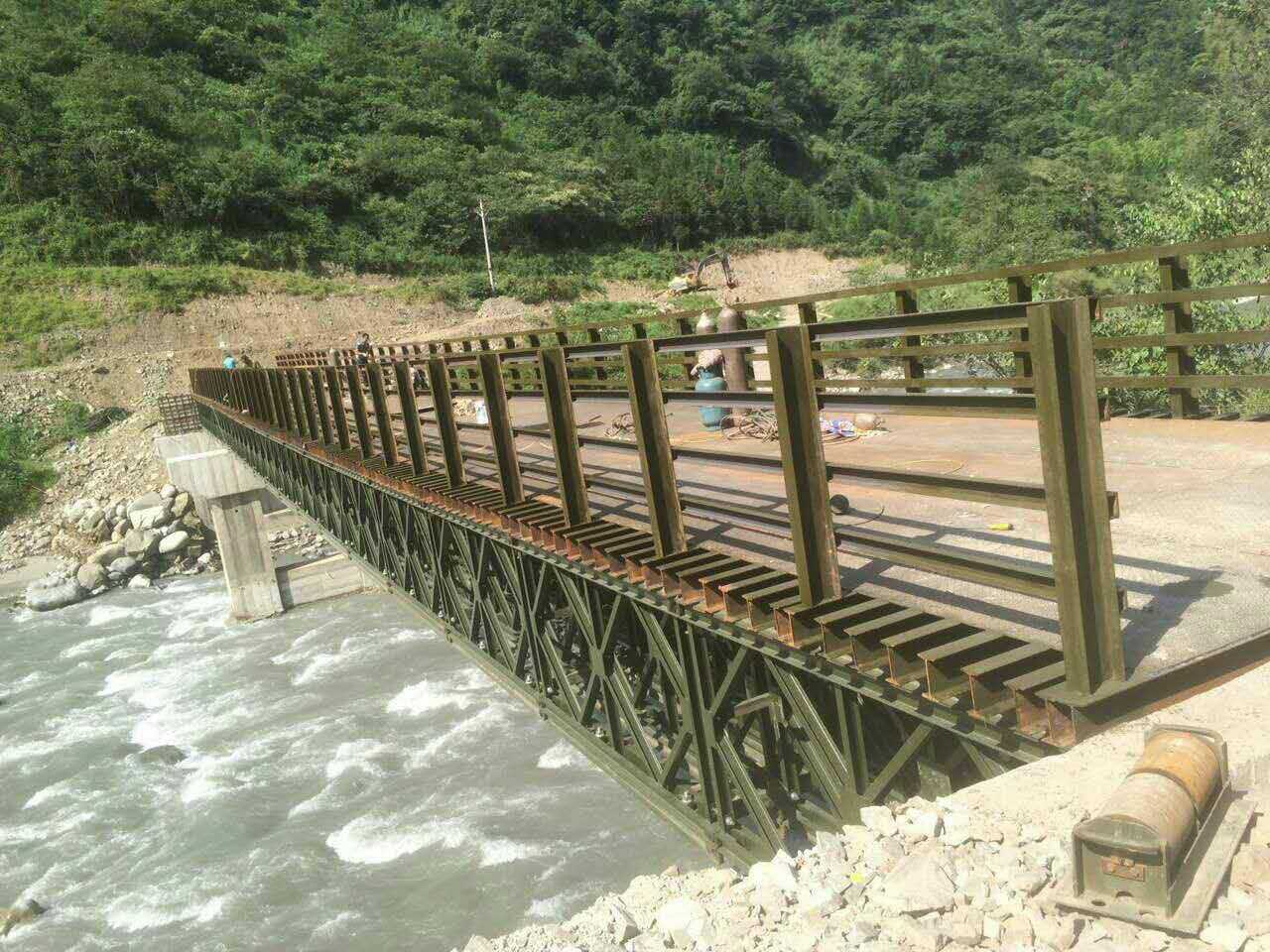 钢便桥安装