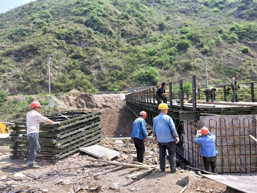 重庆贝雷桥钢便桥梁的操作规范讲解