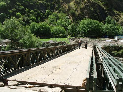 重庆贝雷桥钢便桥